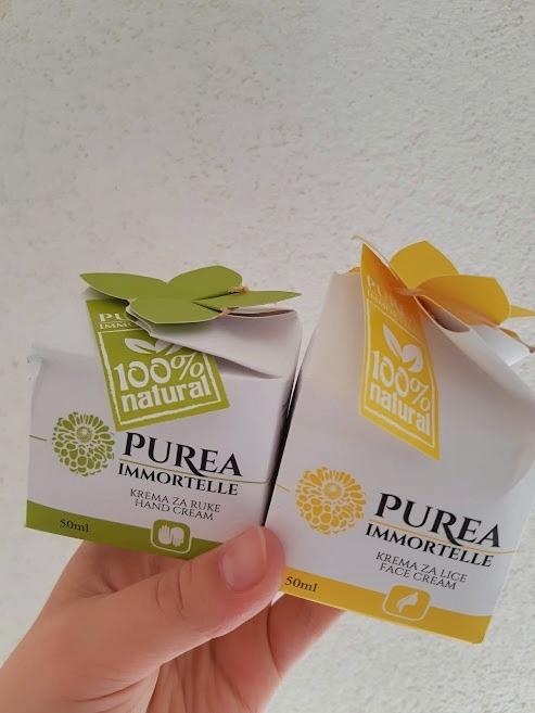Purea Immortelle Recenzija | Krema za Lice & Krema za Ruke