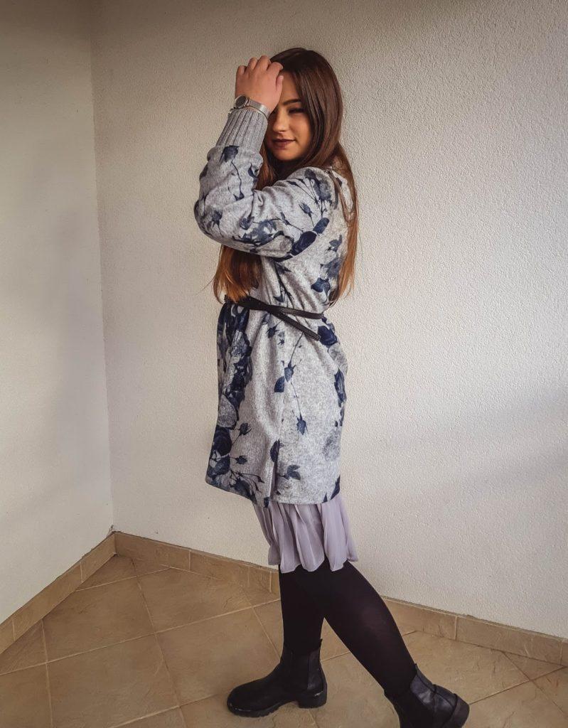 outfit post moda zima 2019 livinglikev fashion blogger living like v modni blog dresslily dress haljina