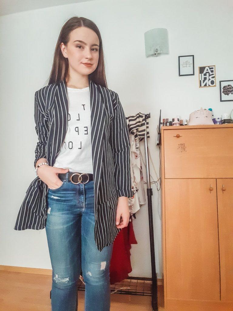 one jeans three outfits livinglikev fashion blogger fashion styleblogger style style hunter street style living like v