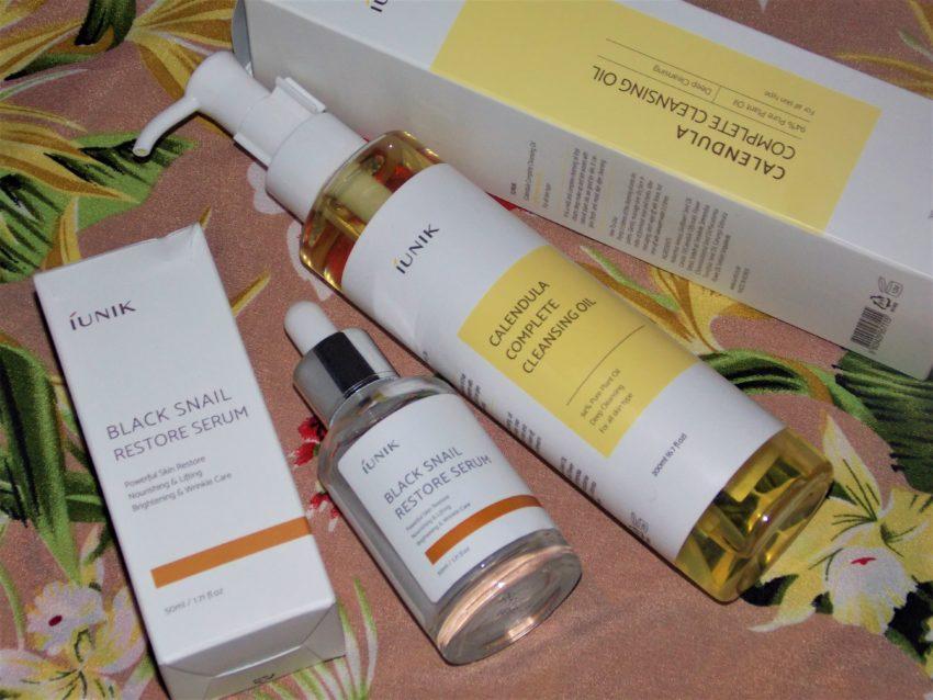 iUnik review restore serum cleansing oil livinglikev fashion blogger