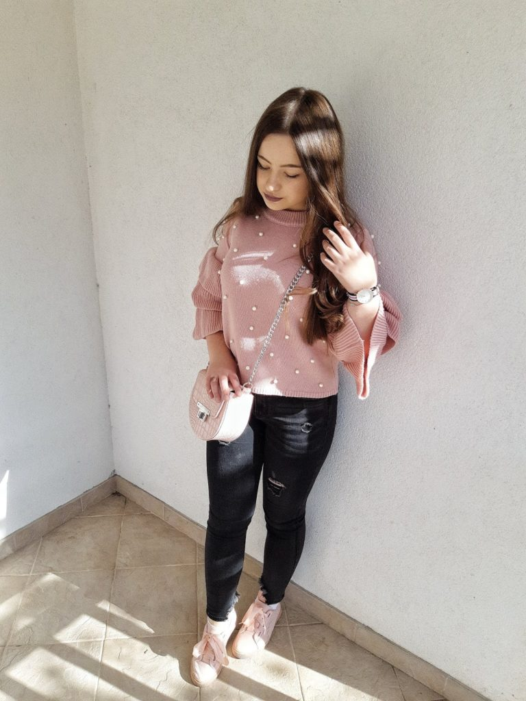Outfit Post   Pink & Black