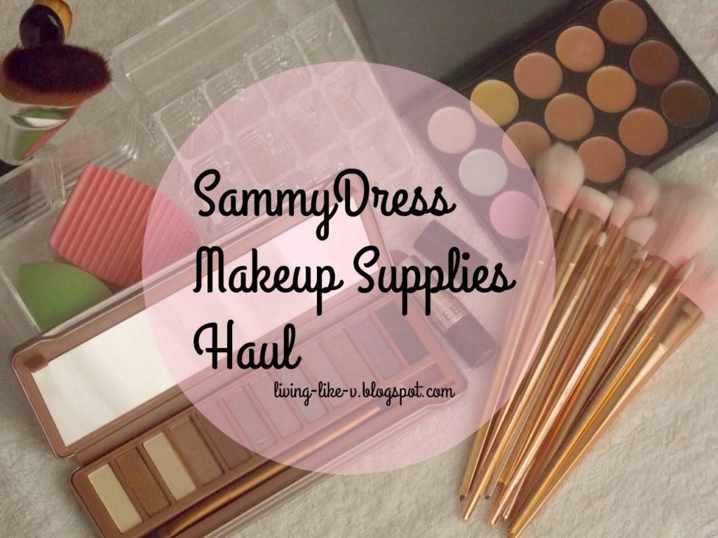 SammyDress Makeup Haul