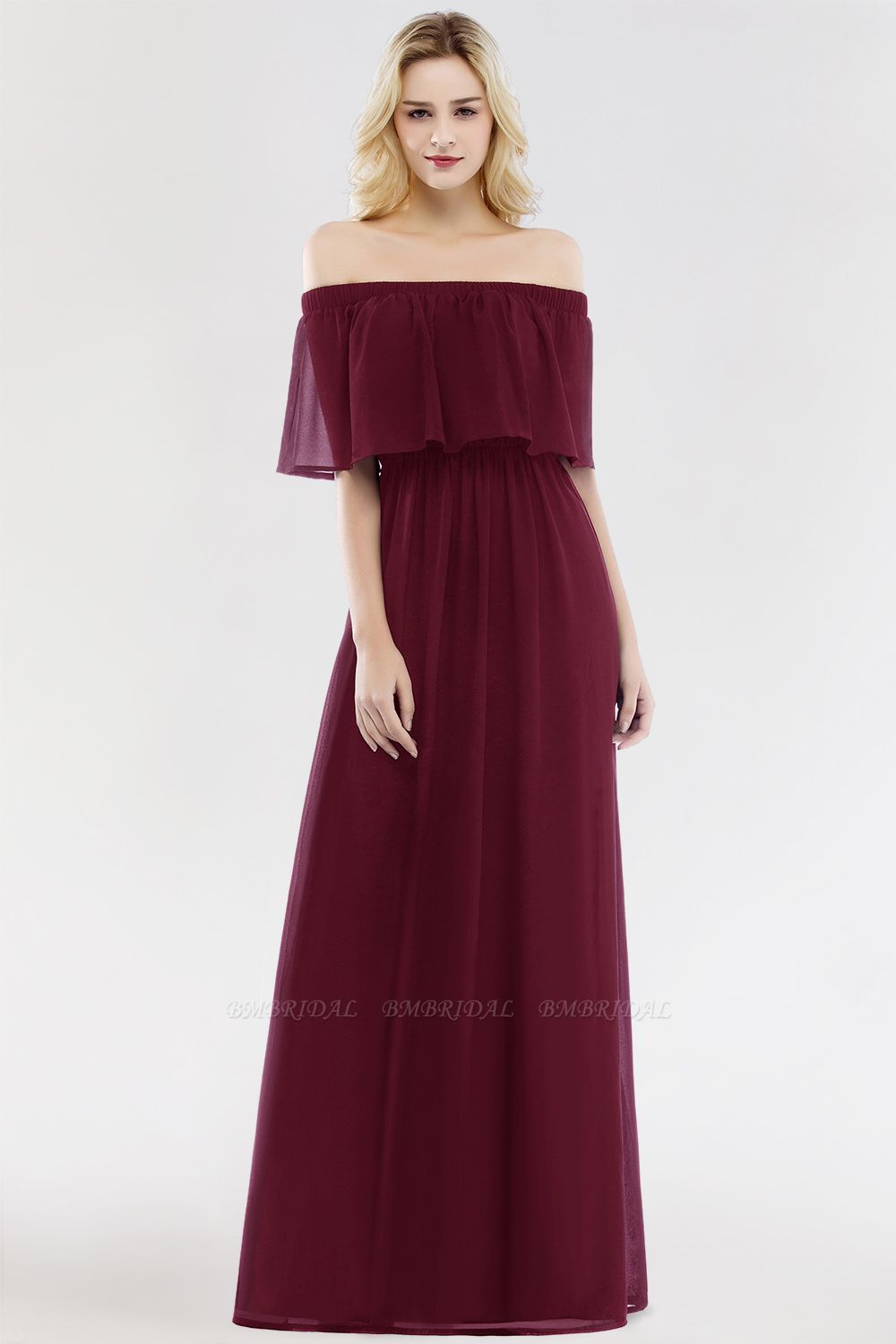 burgundy bridesmaid dress livinglikev fashion blogger bmbridal