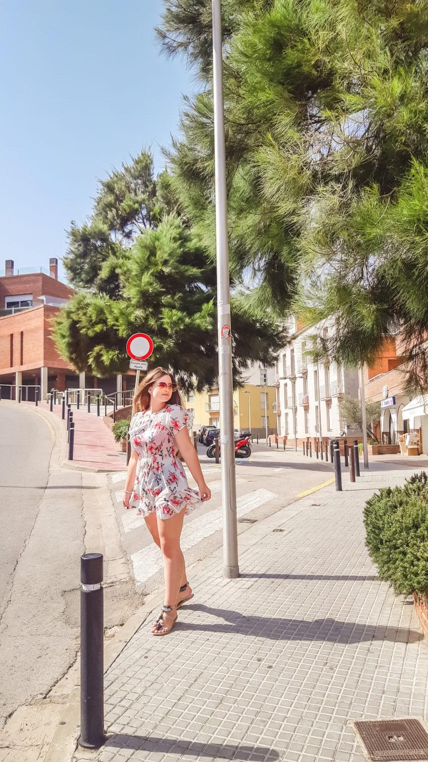 floral summer outfit livinglikev fashion blogger living like v style blogger