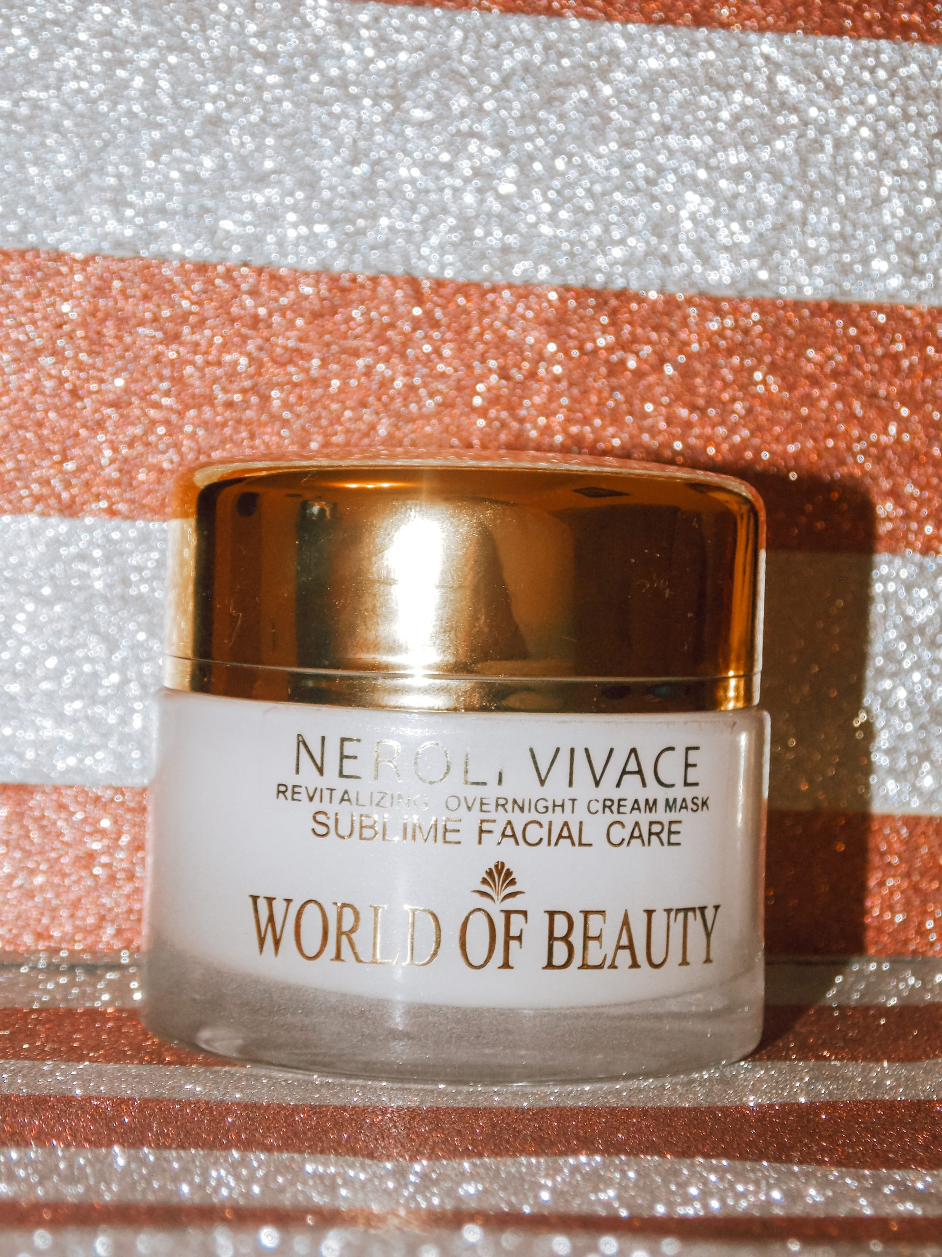 world of beauty neroli vivace revitalizing overnight face cream world of beauty review livinglikev fashion blogger living like v