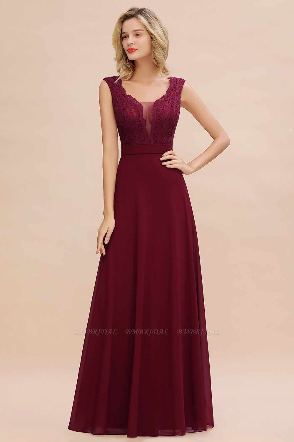 Burgundy Bridesmaid Dresses | BM Bridal