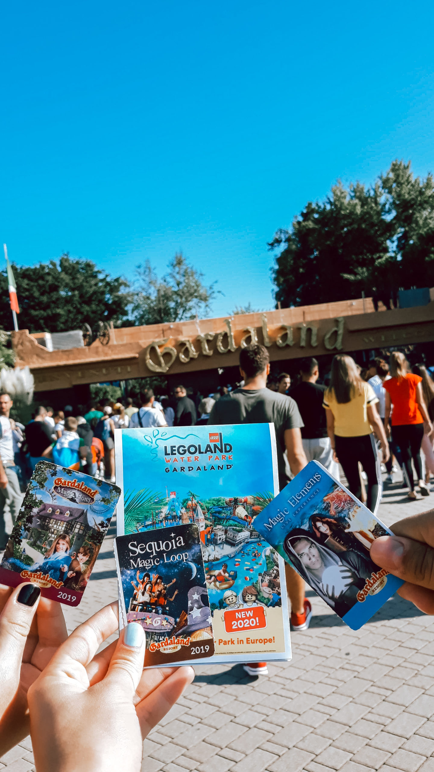 gardaland park italy photo tourist trip livinglikev fashion blogger living like v gardaland