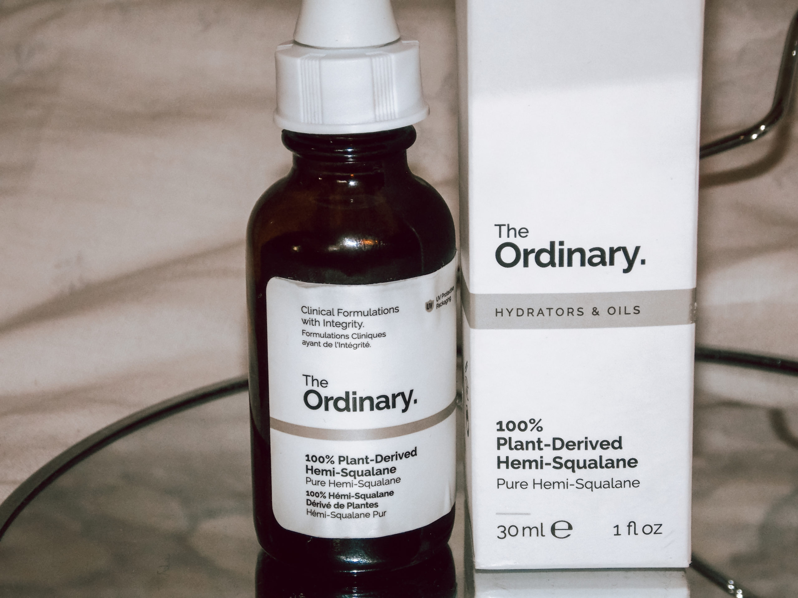 the ordinary 100% plant-derived hemi-squalane review recenzija