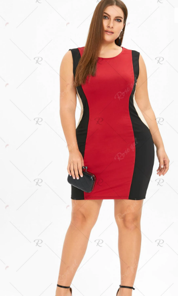 rosegal plus size bodycon dresses