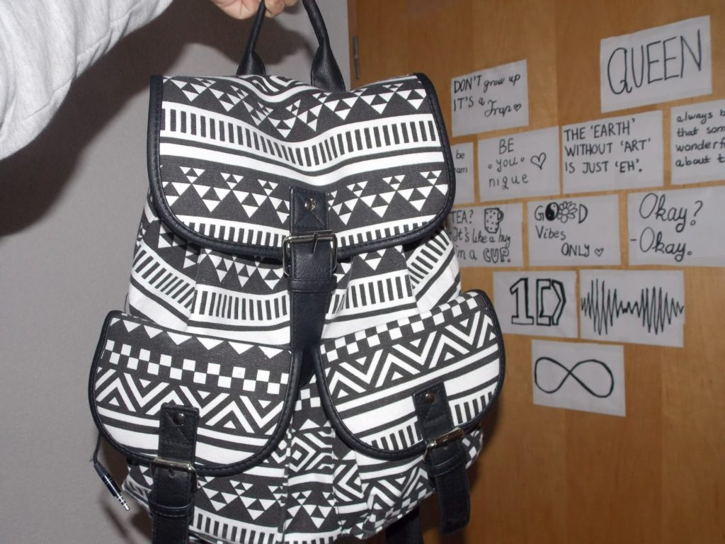 Ethnic Print Backpack | Rosegal Part 2