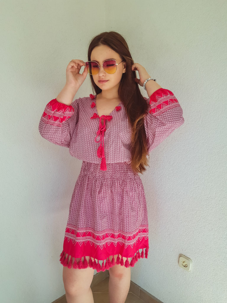 beach dress review livinglikev fashion blogger living like v style blogger bosnian blogger outfit
