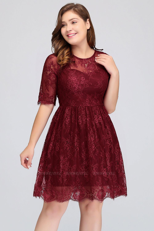 short loose plus size bridesmaid dress lace dress living like v livinglikev fashion blogger