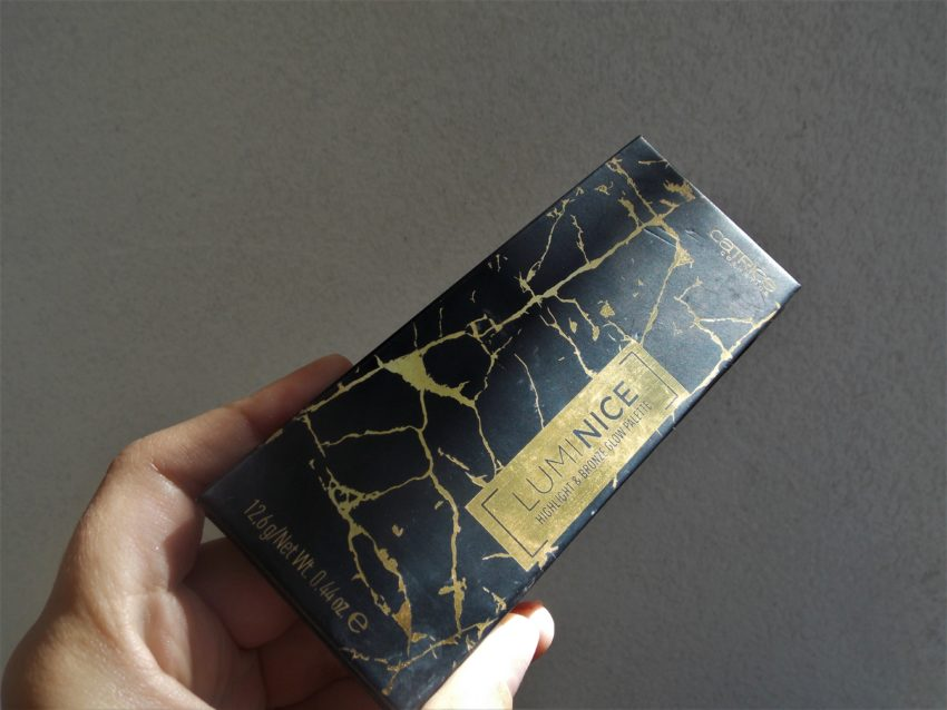 catrice luminice highlight & bronze glow palette review recenzija 020 livinglikev fashion blogger living like v beauty blogger