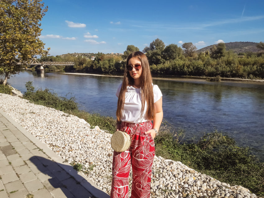 rosegal red and white outfit livinglikev fashion blogger living like v fashion style