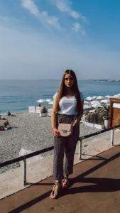 nice france beach morning beach livinglikev fashion blogger