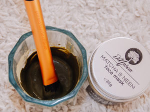 dinatura matcha & neem recenzija review livinglikev fashion blogger face mask living like v beauty and fashion blogger livinglikev