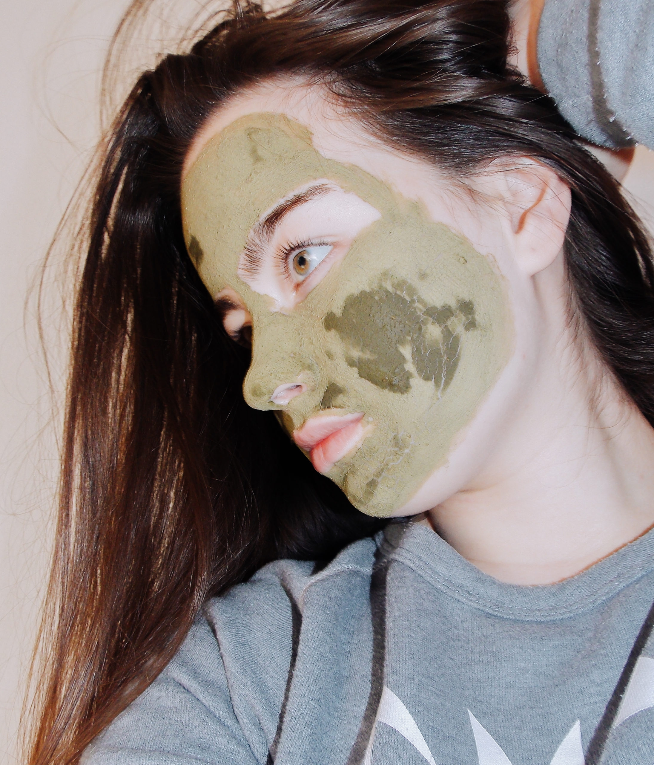 DiNatura Matcha & Neem Face Mask Recenzija / Review