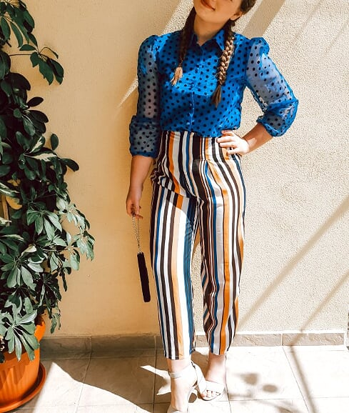 outfit inspo print on print livinglikev fashion blogger living like v