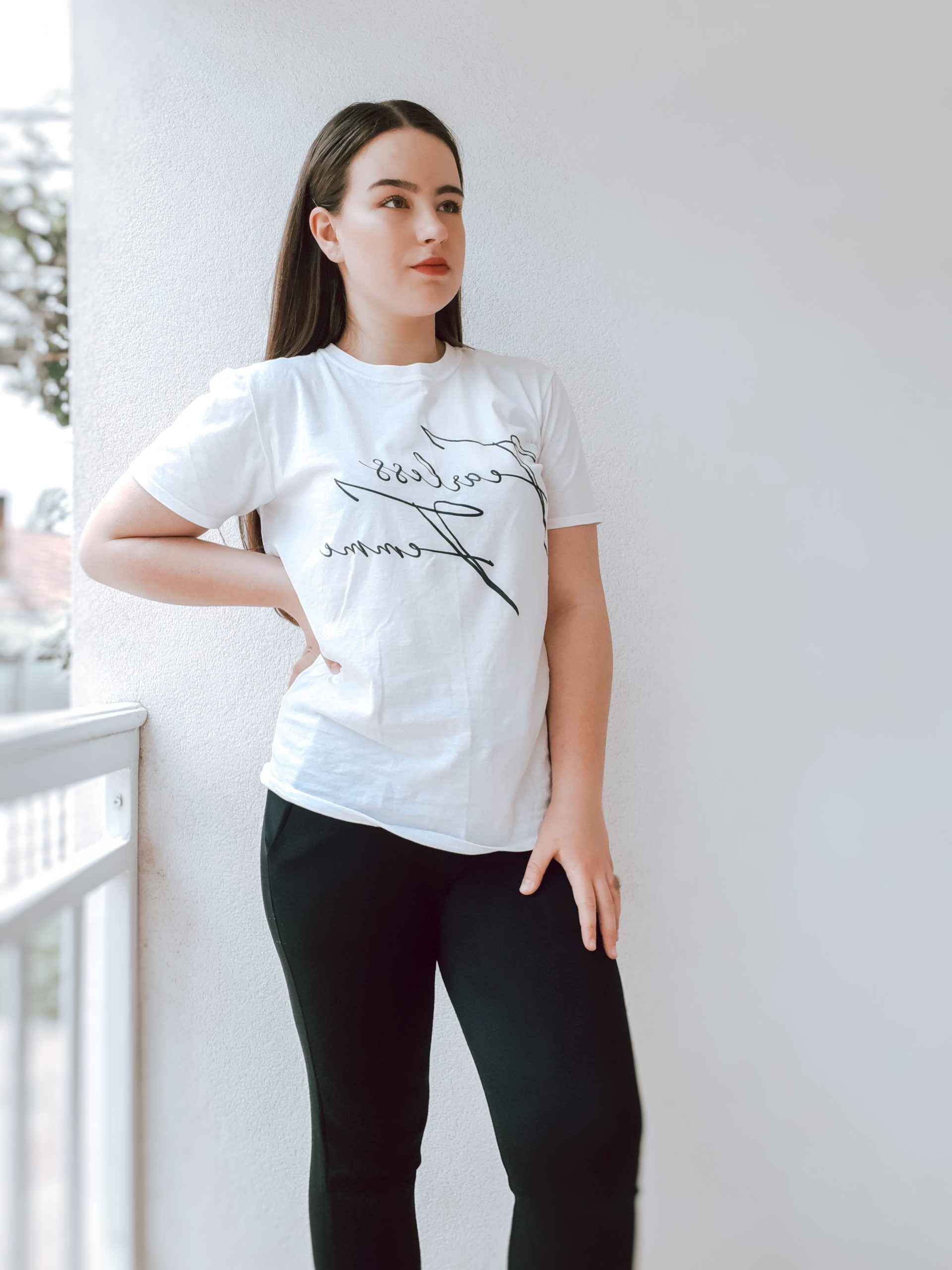 femme luxe try on haul femme luxe finery livinglikev fashion blogger fearless femme t shirt living like v