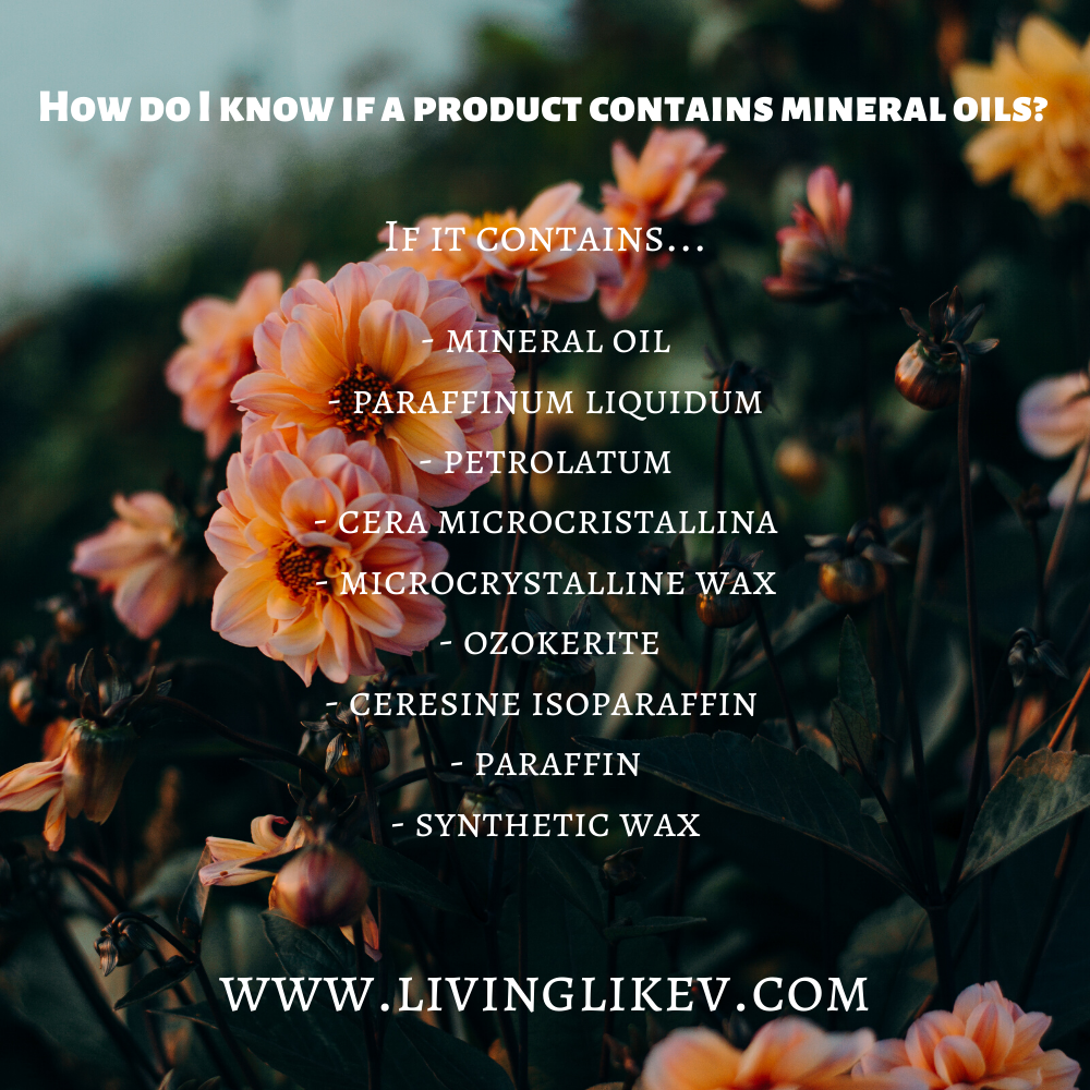 mineral oils list livinglikev fashion blogger living like v