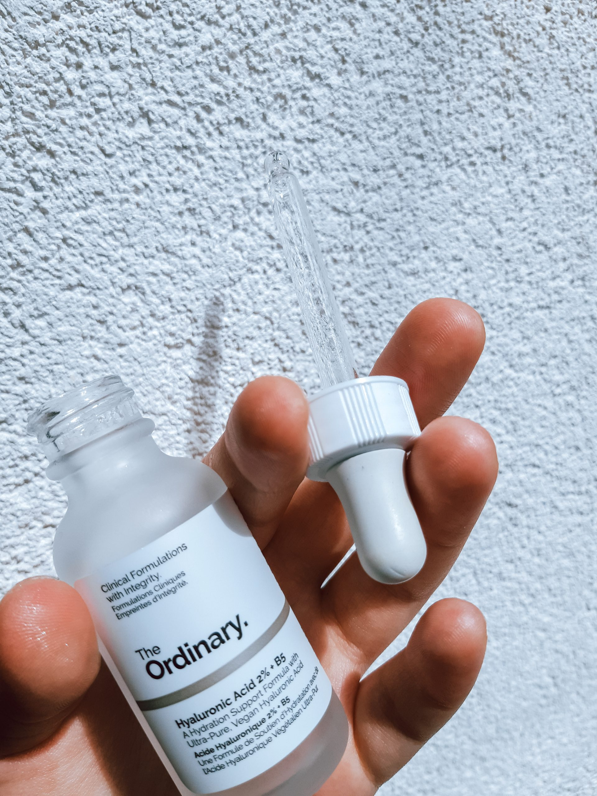 the ordinary hyaluronic acid 2% + b5 review recenzija livinglikev fashion blogger