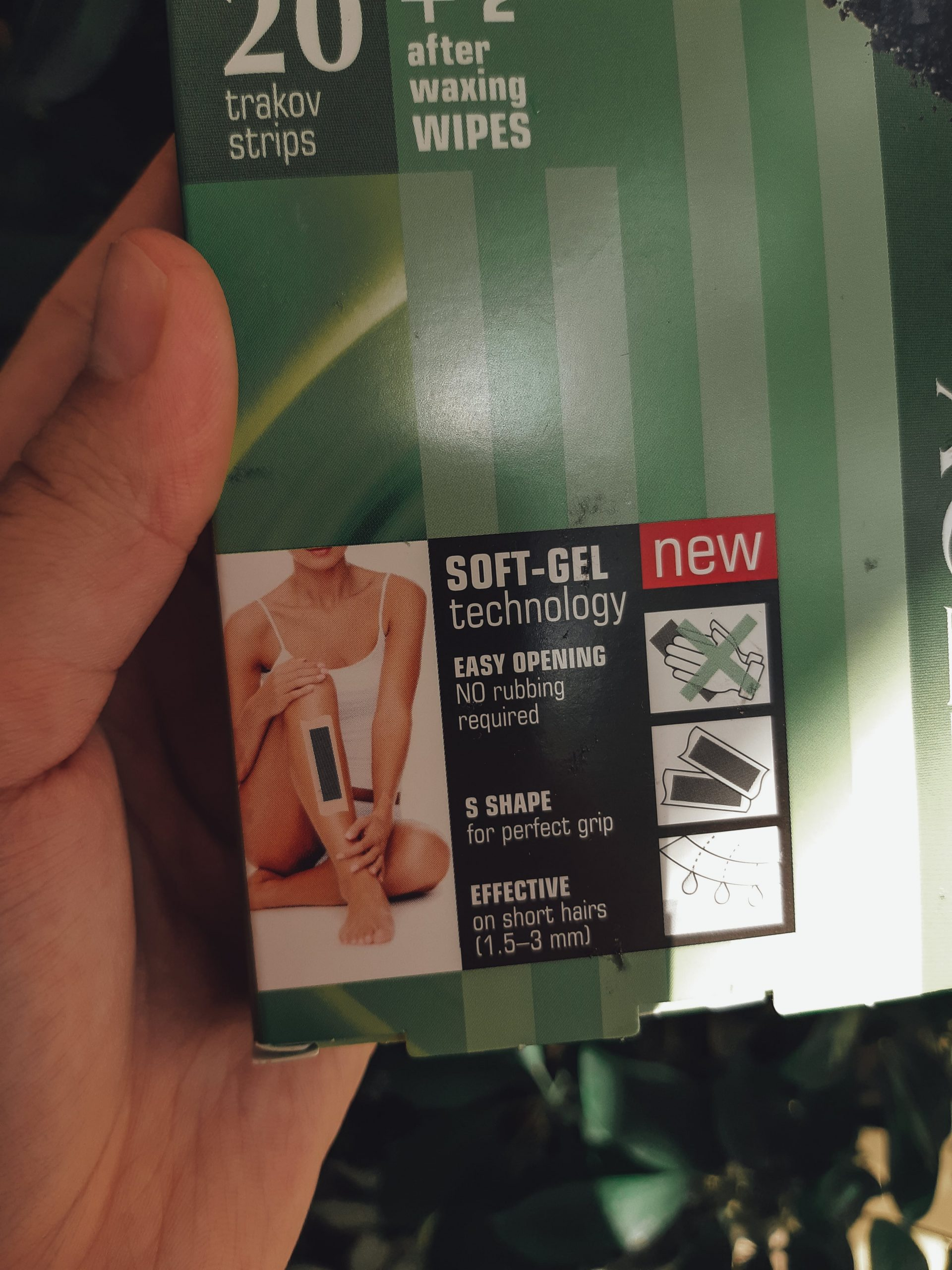 afrodita cosmetics cold wax hair removal strips review recenzija livinglikev fashion blogger afrodita trake za depilaciju recenzija