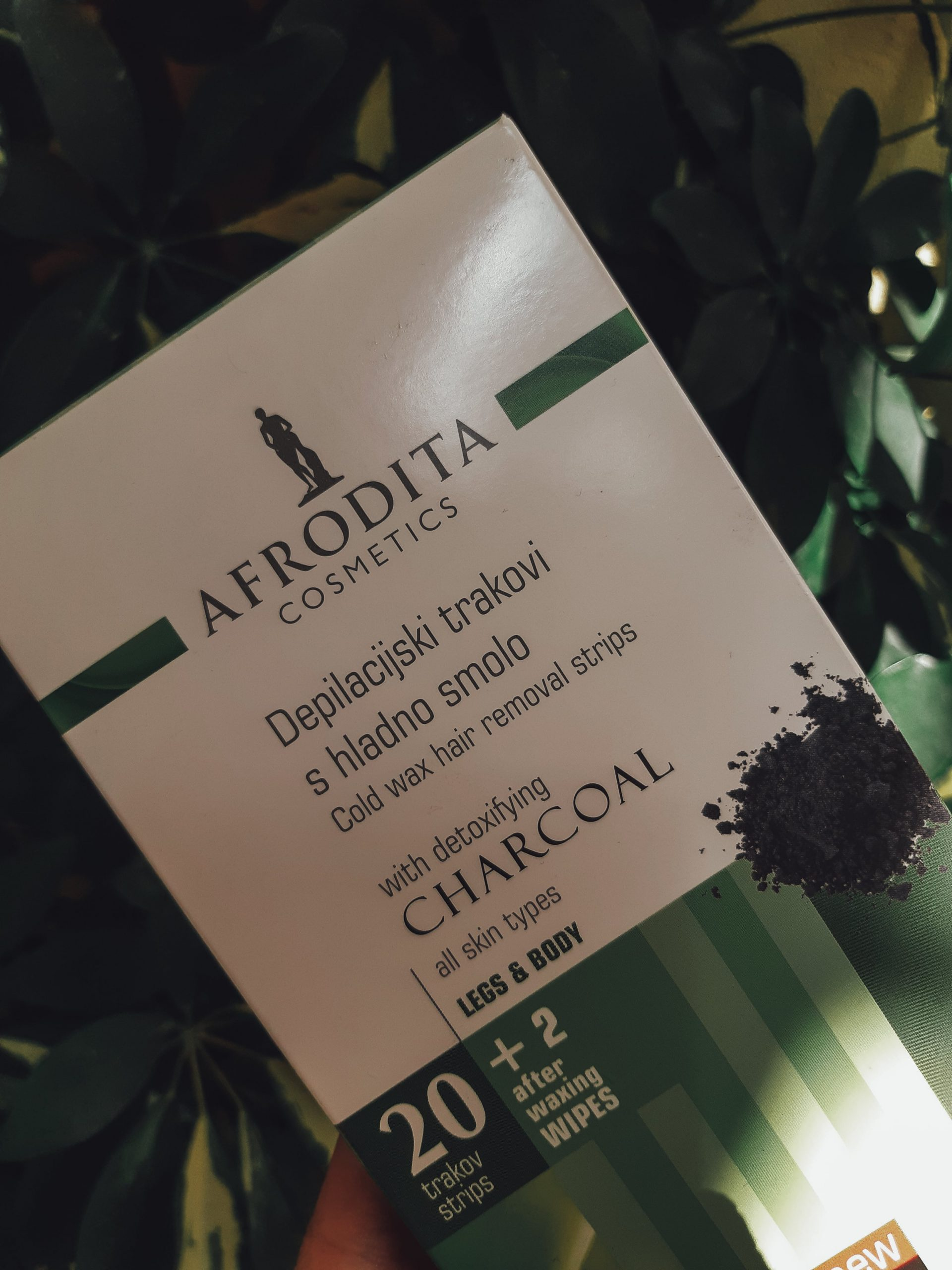 afrodita cosmetics cold wax hair removal strips review recenzija livinglikev fashion blogger