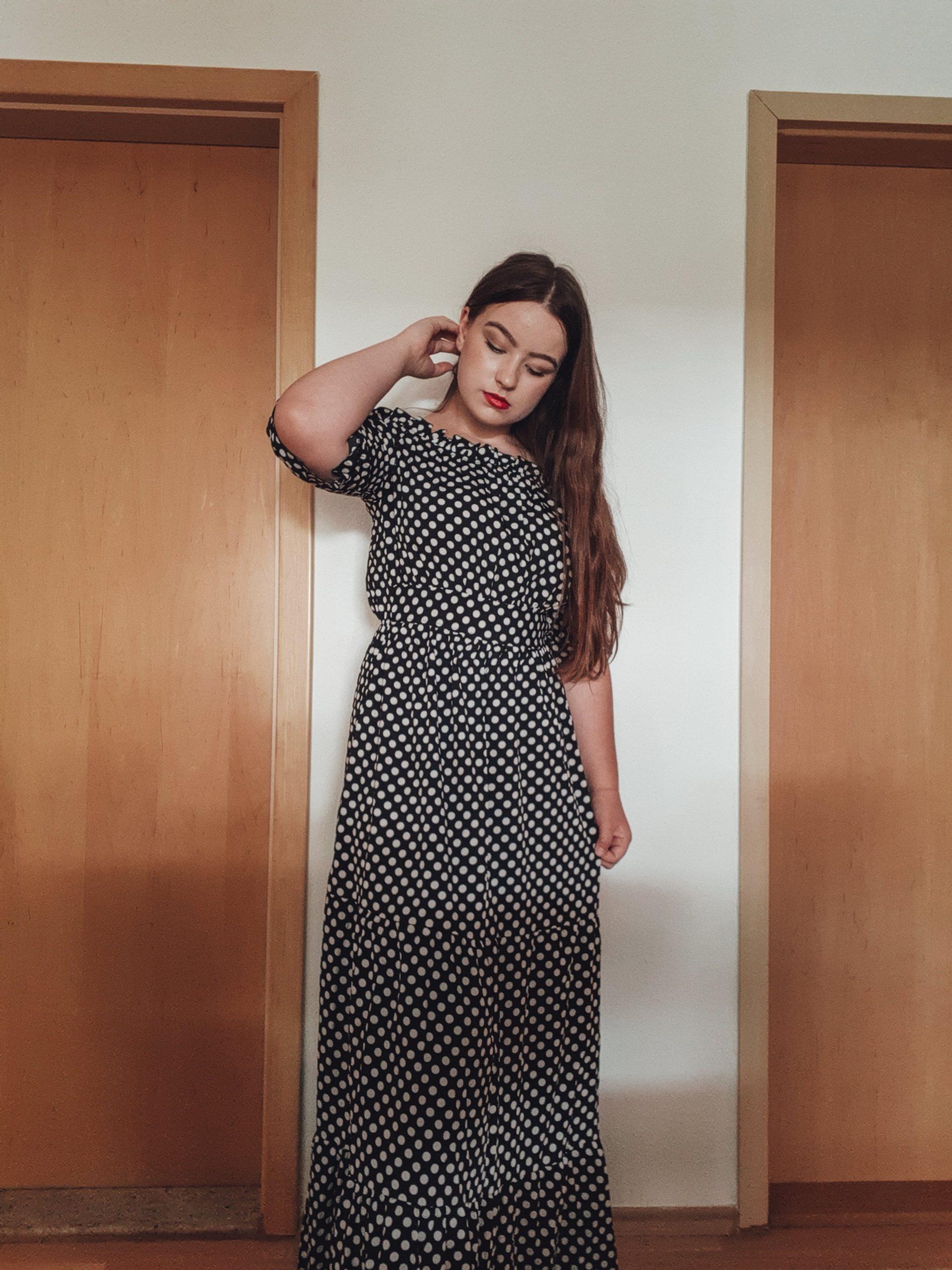 polka dot dress outfit livinglikev fashion blogger style blogger living like v vildana šuta vildana livinglikev style fashion blog