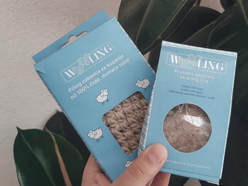 wooling recenzija prirodna spuzvic za piling lica