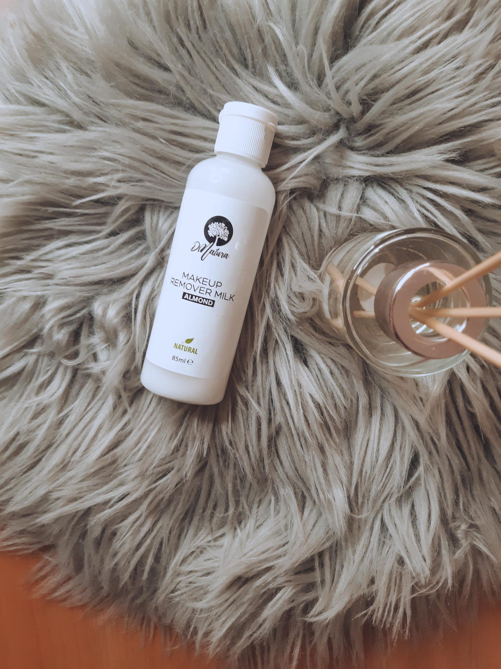 dinatura makeup remover milk recenzija review almond livinglikev fashion blogger living like v fashion blogger