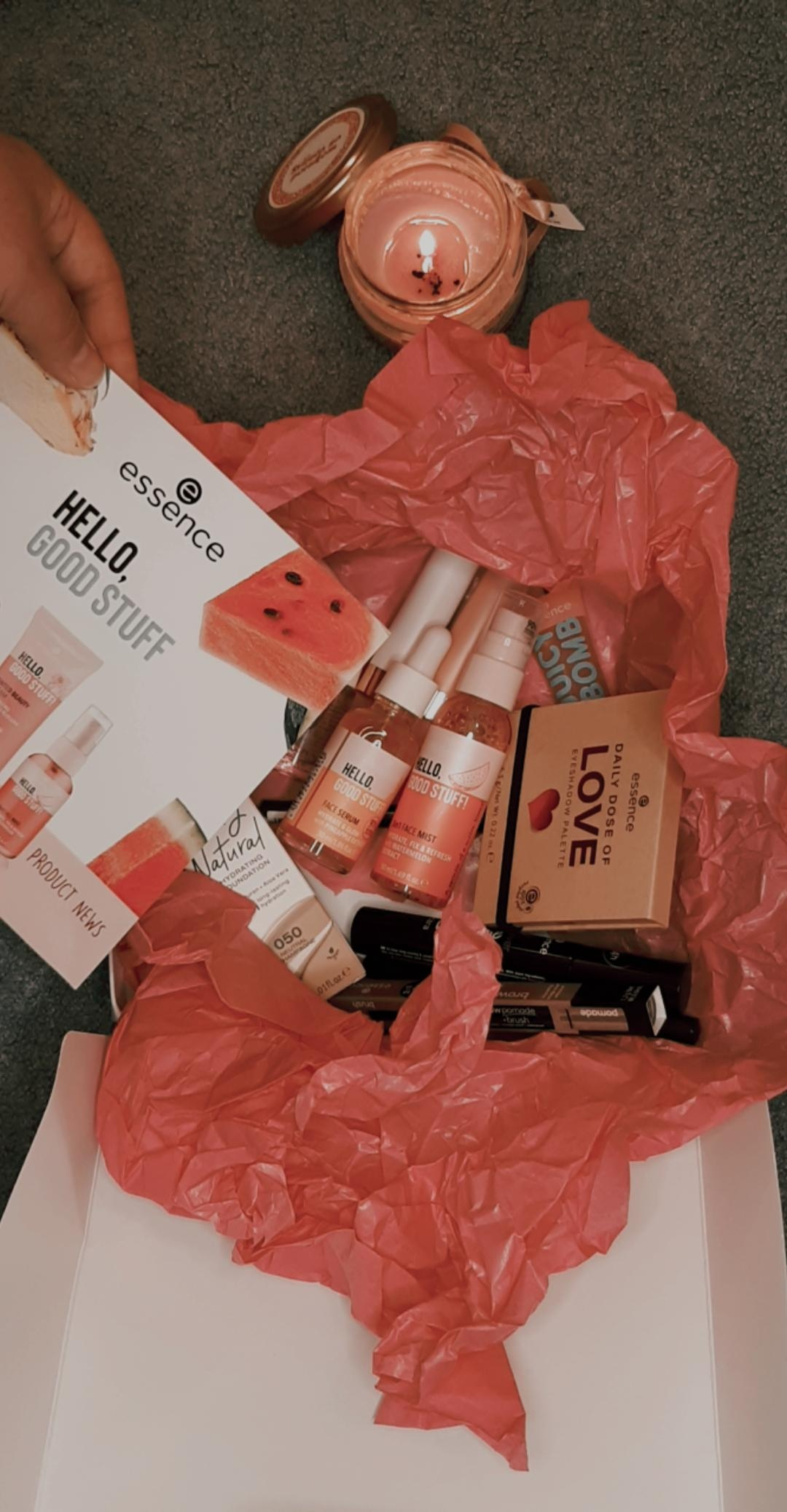 essence autumn winter 2020 collection unboxing essence cosmetics livinglikev fashion blogger