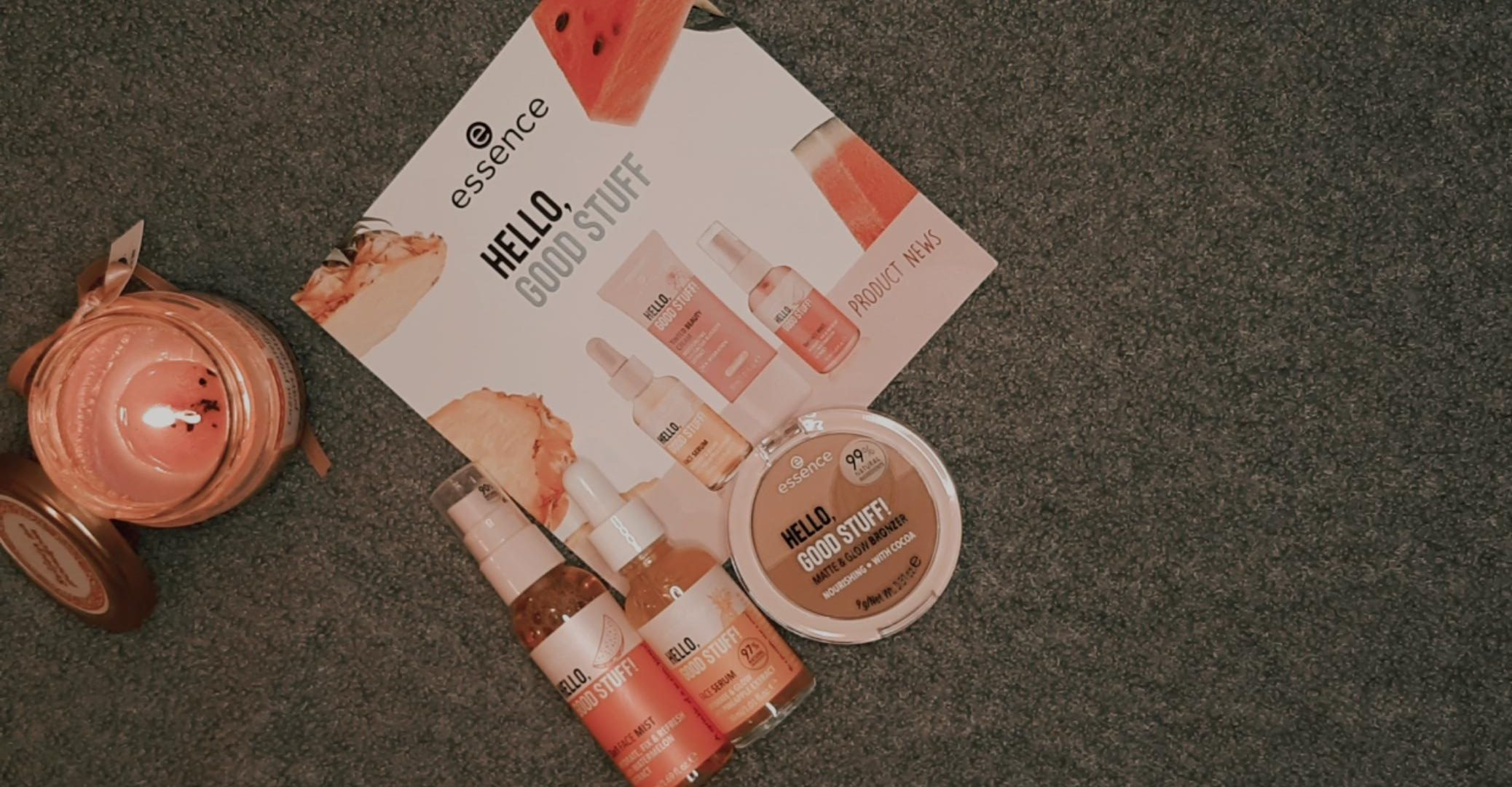 essence autumn winter 2020 collection unboxing essence cosmetics livinglikev fashion blogger essence hello good stuff living like v