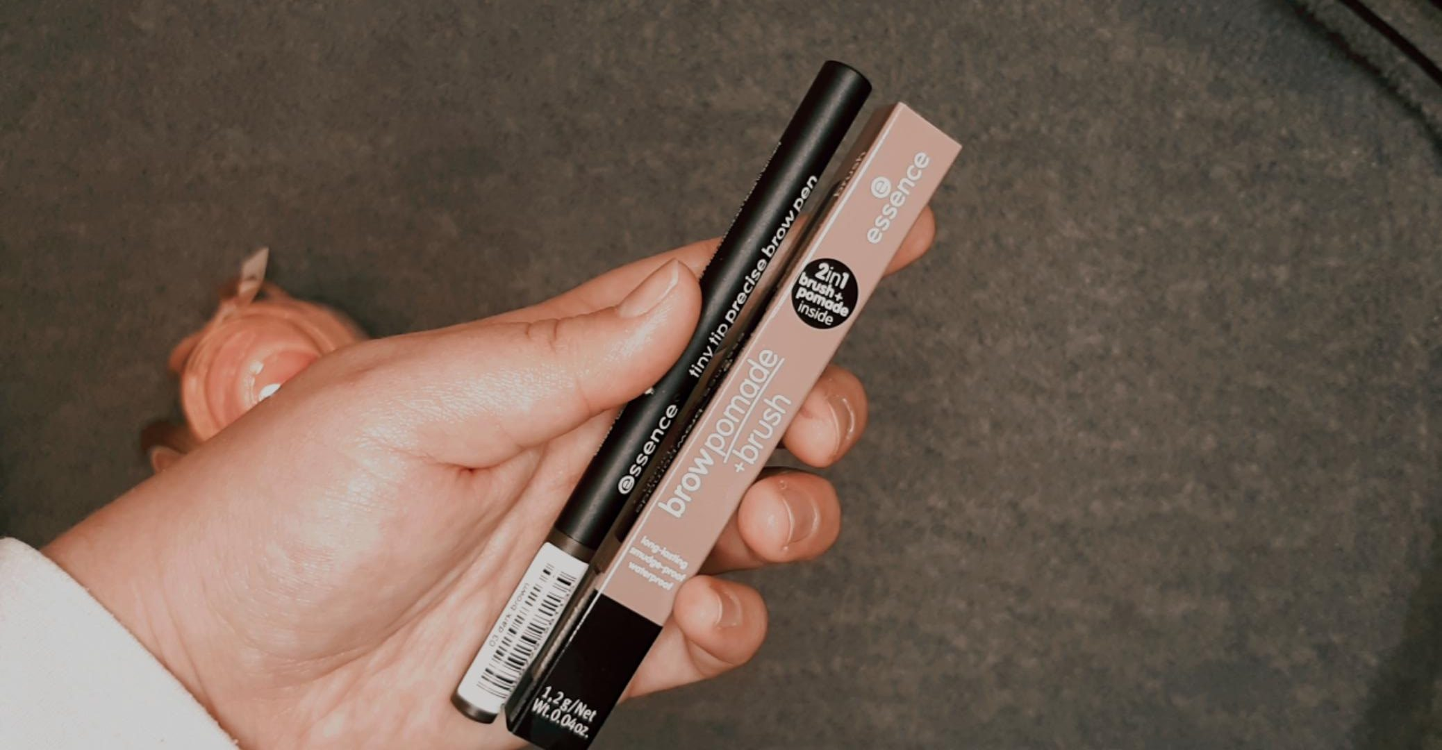 essence brow pomade brow liner essence cosmetics